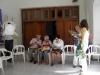 9) Comenzamos a reunirnos en la Casa de la Familia.